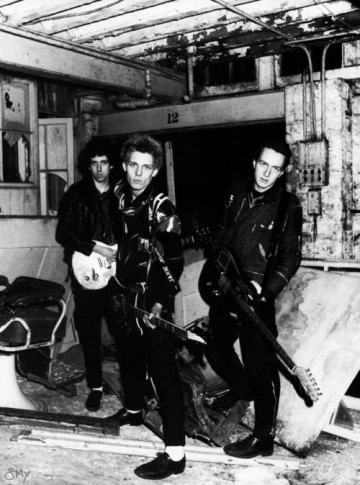 The Clash at Rehearsals.